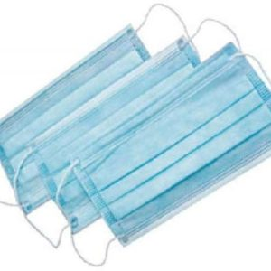 Маски на резинках 3-х сл, Голубые Софт ДИСПОЛЭНД, 1 шт.