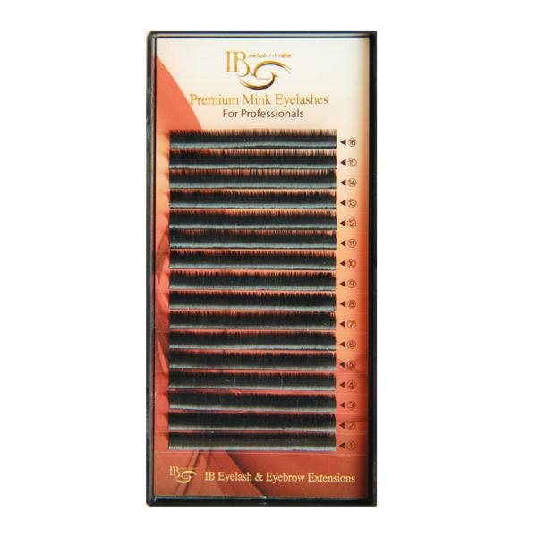 Ресницы Чёрные I-Beauty, 16 линий