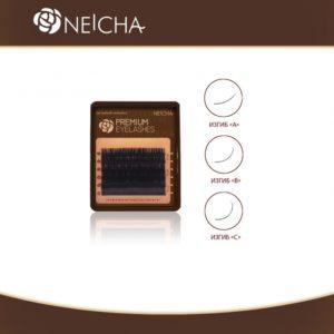 Ресницы Чёрные Neicha Mini Premium, 6 линий