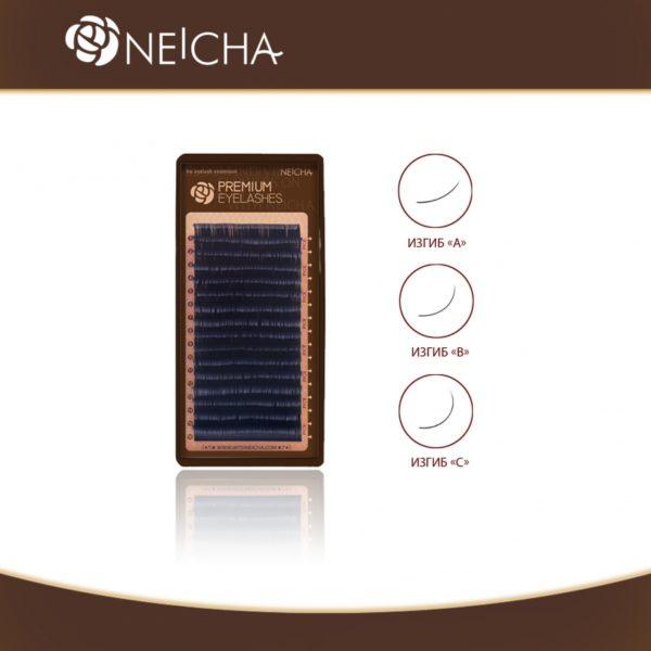 Ресницы Чёрные Neicha Premium 16 линий