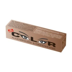Color Краска для бровей и ресниц, Натурально-коричневая