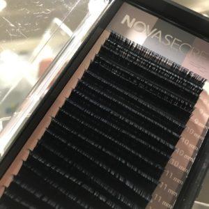 Mix Ресницы Чёрные NovaSecret pro+ 20 линий