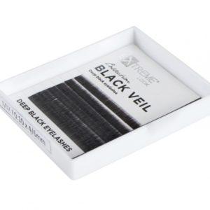 Волоски для бровей Mini Mix I 0,10 (4-6) чёрные Extreme Look