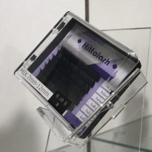 Ресницы HITTOLASH мини микс, изгиб B, 6 лент