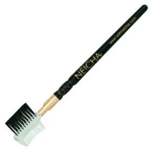 Щеточка для ресниц двухсторонняя Neicha Eyebrow Comb Brush