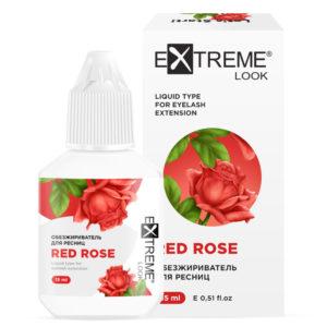 Обезжириватель для ресниц «Red Rose» 15 мл Extreme Look 1