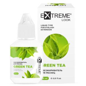 Обезжириватель для ресниц Green Tea 15 мл Extreme Look 1