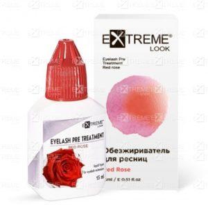 Обезжириватель для ресниц Red Rose 15 мл Extreme Look
