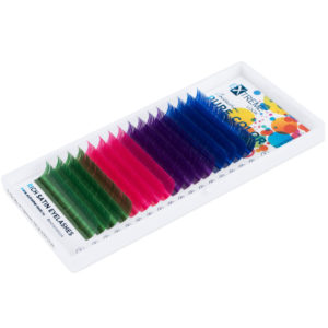 Ресницы Pure Color (несколько цветов в палитре) С 0,10-12мм — холодные цвета Extreme Look (16 линий)