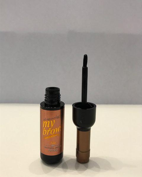 Гель-краска для бровей Novo №2 (Натурально-коричневая)
