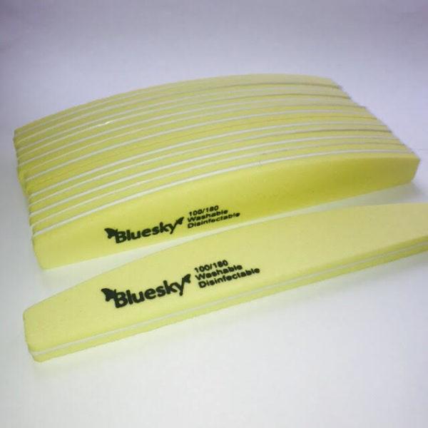 Баф для ногтей Bluesky 100-180 (Желтый)