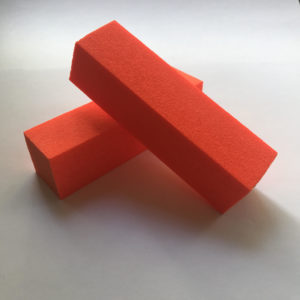 Баф полировачный Оранжевый 4-х сторонний