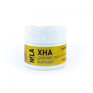 Коричневая хна для биотату и бровей НИЛА (NILA HENNA)