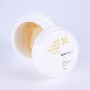 Ремувер кремовый с ароматом лимона Novasecret, 15 гр