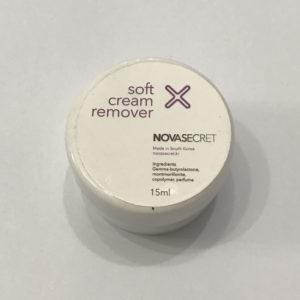 Ремувер кремовый Soft Novasecret, 15 гр