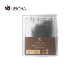 Ресницы пучковые в кейсе NEICHA (россыпь - 300 шт) 13 мм