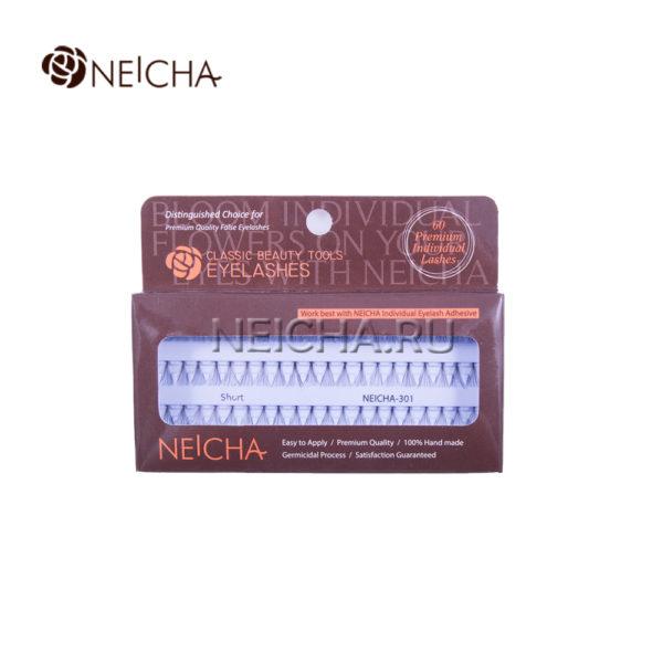 Ресницы пучковые NEICHA № 301 узелковые (SHORT_60P)