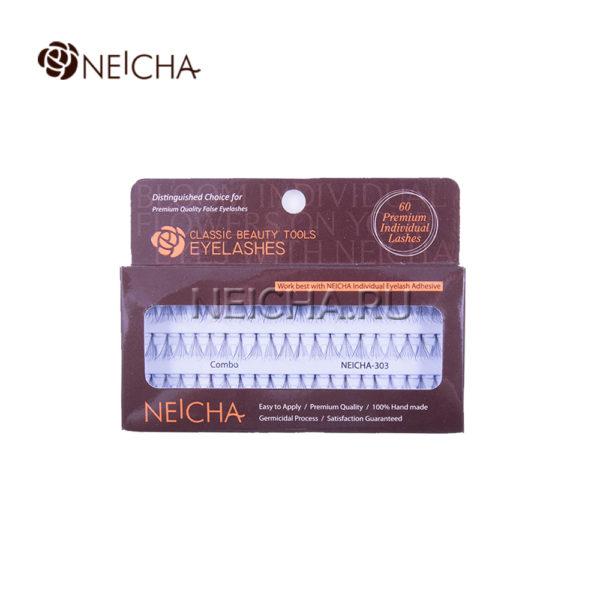 Ресницы пучковые NEICHA № 303 узелковые (COMBO_60P)