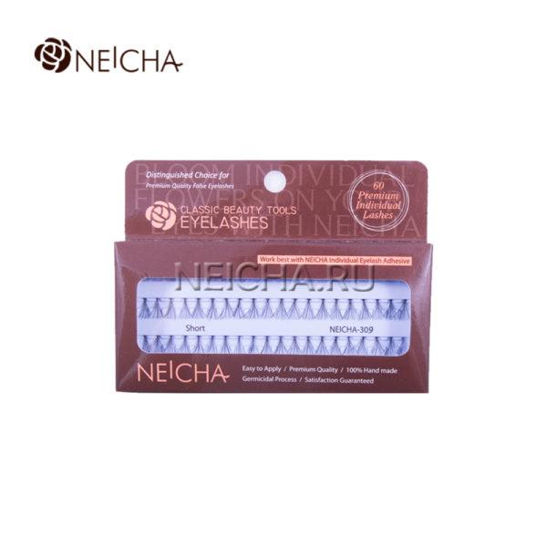 Ресницы пучковые NEICHA № 309 узелковые (SHORT_60P)