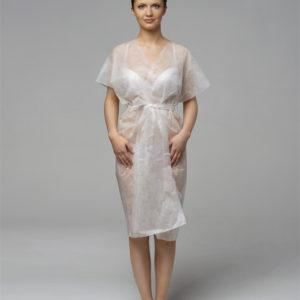 Халат-кимоно без рукавов SMS Белый
