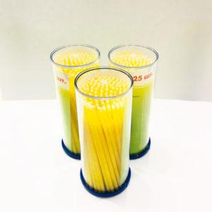 Микробраши ДС Средние-желтые (М=1,5мм, 1 уп х 125шт)