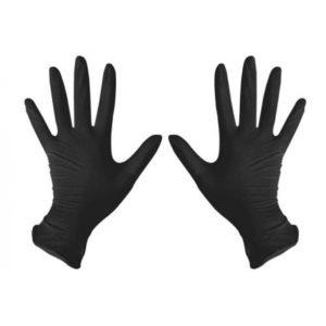 Перчатки нитриловые, Чёрные BENOVY, 10 шт в упк.