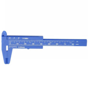 Штангенциркуль для бровей мини (синийй)