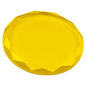 Кристалл для клея 45 мм (Жёлтый)