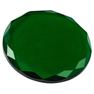 Кристалл для клея 45 мм (Зелёный)