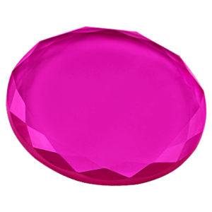Кристалл для клея 45 мм (Малиновый)