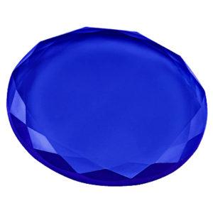 Кристалл для клея 45 мм (Синий)