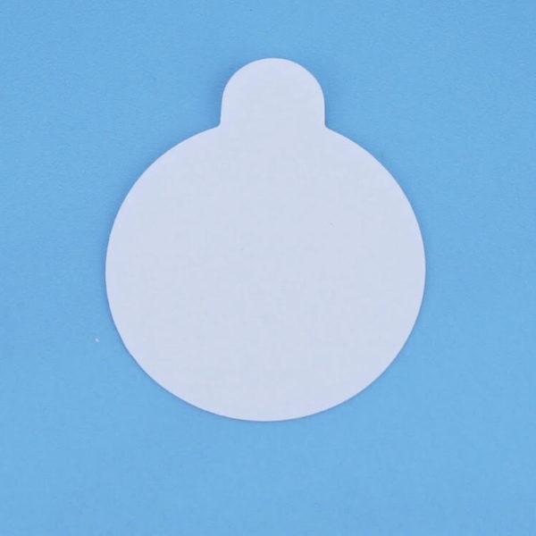 Наклейки на нефритовый камень, кристалл или кольцо-кристалл 23 мм, 1 лист (24 шт на листе)