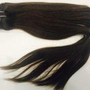 Натуральные коричневые волосы, Прямые, 100 гр, 50 см, 7 прядей 2