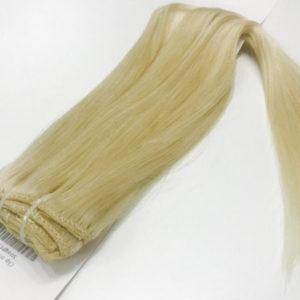 Натуральные человеческие волосы, Натуральный блонд, 100 гр, 50 см, 7 прядей 1