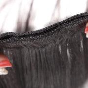 Натуральные чёрные волосы, Прямые, 55 см, 140 гр, 10 прядей 4