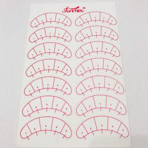 Патчи виниловые с разметкой (7 пар на листе)