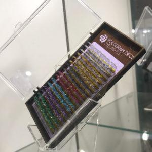 Ресницы NEICHA с блестками HOLOGRAM DECO LASH (разноцв) B 0,15 13 мм