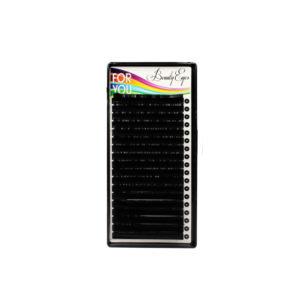 Черные ресницы For You Standart (18 лент) отдельные длины