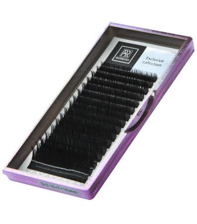 Чёрные ресницы Barbara Exclusive отдельные длины 1