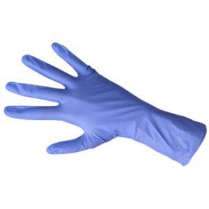 Перчатки нитриловые, Голубые Safe&Care, 10 шт. в упк