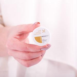 Ремувер кремовый с ароматом Карамели Novasecret, 15 гр