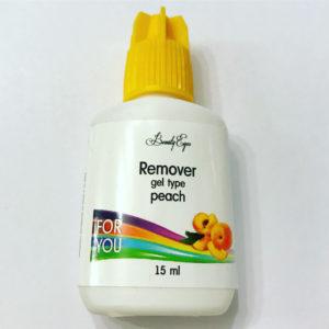 Ремувер гелевый с ароматом Персика For You, 15 мл