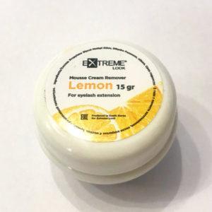 Ремувер крем-мусс «Lemon» 15 гр в баночке Extreme Look
