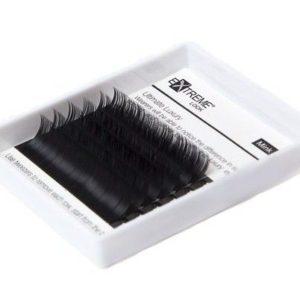 Ресницы чёрные Mini отд.длины изгиб L Extreme Look (6 линий)