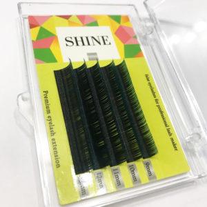 Мини-палетки микс SHINE 2-х тоновые (синие), 5 лент