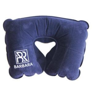 Подушка надувная Синяя 1