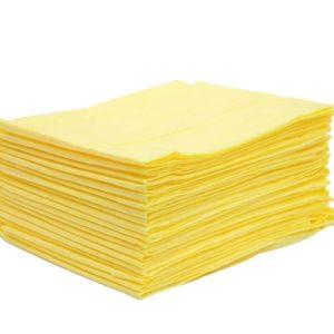 Простыня одноразовая SMS Стандарт Жёлтая 200х80 см, 20шт. уп.
