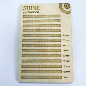 Планшет для ресниц SHINE деревянный (размер М), 1510 см