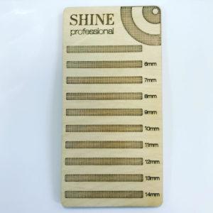 Планшет для ресниц SHINE деревянный (размер S), 157,5 см
