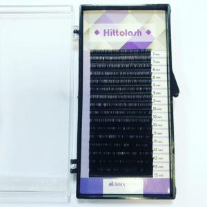 Ресницы HITTOLASH микс, изгиб С+, 16 лент